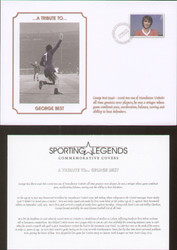 commemorative cover produced in tribute to George Best.