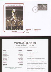 Commemorative cover produced to celebrate Arsenal FA Cup Winners 1971.