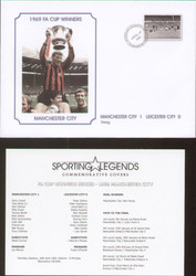commemorative cover produced to celebrate Manchester City FA Cup Winners 1969