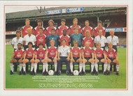 Superb hand signed Southampton FC Official Team Picture season 1985-86, signed by 23+ of the squad
