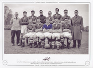 Chelsea - Division One Champions 1954/55. Superb team picture of the Chelsea championship side.