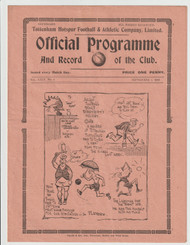 original Official League Division Two programme for the game, Tottenham Hotspur V Norwich City played September 1936