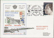 An original first day cover to celebrate Southend United's 1000th Home League Match. Issued November 1972. Complete with filler card.