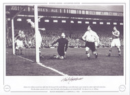 Nat Lofthouse Bolton Wanderers V Liverpool 1952 signed limited edition