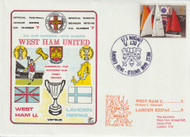 West Ham United in Europe 1975 First Day Cover