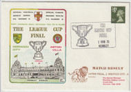 Aston Villa V Norwich City 1975 League Cup Final First Day Cover