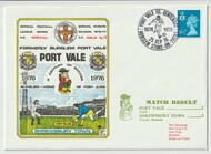 first day cover to celebrate Port Vale's Centenary 1976
