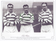 Sean Fallon, Willie Fernie & Charlie Tully - Legends of Celtic 1957