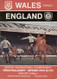 original Official programme for the international match Wales V England played on 18 April 1970 at Ninian Park, Cardiff.