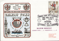 original first day cover to celebrate Grimsby's return to Division 2 as Champions, issued in August 1980. Complete with filler card.