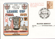 original first day cover to celebrate The League Cup Final 1980, Nottingham Forest V Wolverhampton Wanderers, issued in March 1980. Complete with filler card.