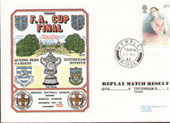 original first day cover to celebrate The FA Cup Final 1982, QPR V Tottenham Hotspur, issued in May 1982. Complete with filler card.