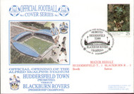 original first day cover to celebrate Huddersfield's opening of the Alfred McAlpine Stadium, issued in August 1995. Complete with original postcard.
