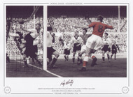 Roy Bentley scores for England V West Germany at Wembley 1954