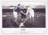 Roy Bentley Chelsea V Red Banner 1954