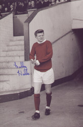 Born in Stockport, Noble signed for Manchester United as a trainee in 1961 and turned professional the following year. He made his Football League debut on 9 April 1966 in a 2–1 home defeat to Leicester City and became a regular in the side that won the league title in 1967. he was seriously injured in a car crash just before United sealed the title. He recovered from the injuries which almost claimed his life, but his attempts to recover full fitness proved unsuccessful and he retired from playing three years later.