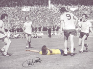 Charlie George Arsenal 1971 FA Cup Final - Signed 16x12 Photograph