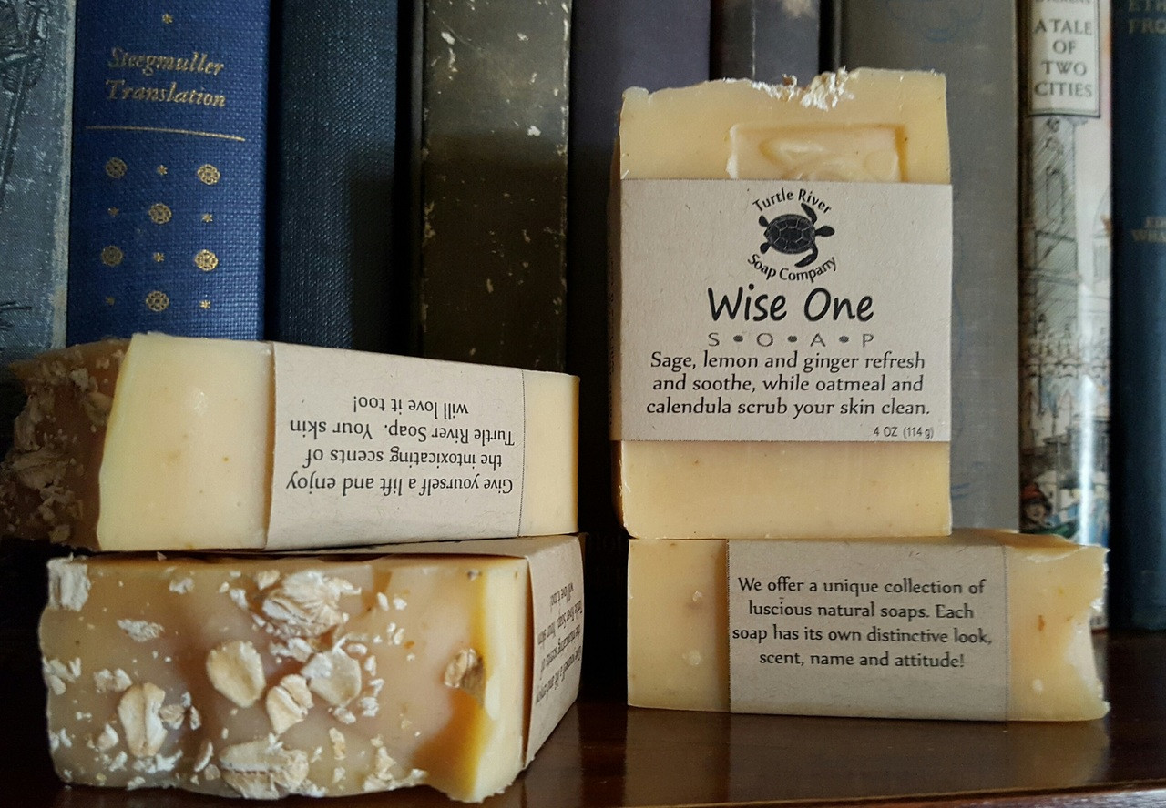 Wise One (Handmade Soap) - Turtle River Soap Company