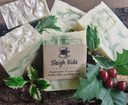 Sleigh Ride natural handmade soap