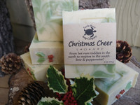 Christmas Cheer - SOLD OUT!  (Handmade Soap)