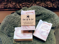Get Up & Go peppermint and rosemary soap