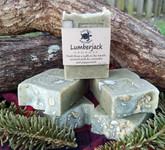 Lumberjack handmade soap