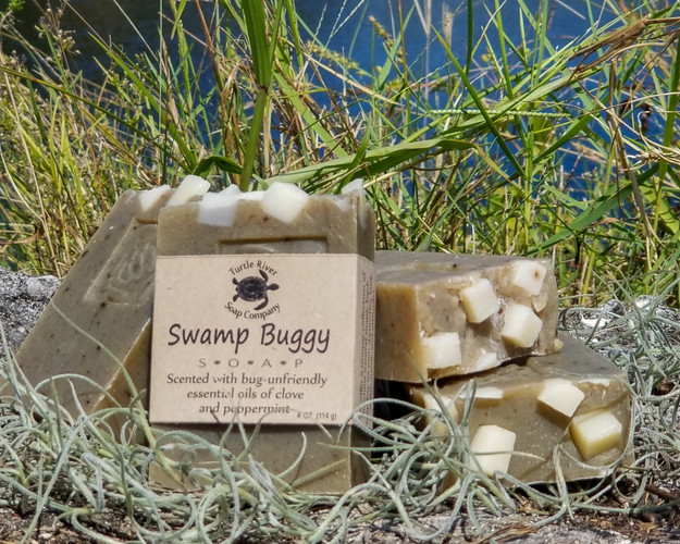 Swamp Buggy handmade soap