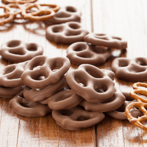 Chocolate-covered Pretzel Twists - 5 oz