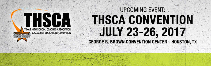 Upcoming Event: THSCA Convention
