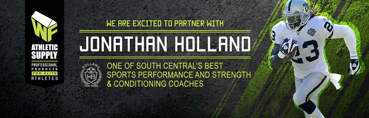 WF Athletic Supply is happy to Partner with Jonathan Holland