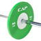 """2"""" Full Color Competition Bumper Plate, green, 10 kg"""