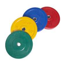 "2"" Color Bumper Plates with Steel Insert"