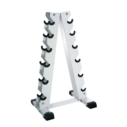 A frame Dumbbell Rack