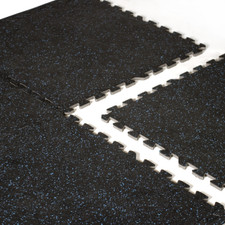 CAP Barbell 6-pcs Foam Tile Flooring w/ Recycled Rubber Top