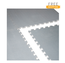 CAP Barbell 6-pcs Foam Tile Flooring w/Yoga Mat Texture
