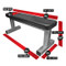 Dimensions of Legend Fitness Utility Flat Bench