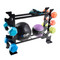 CAP Multiple Dumbbell Rack featuring accessories