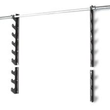 CAP 6 Horizontal Bar Storage Wall Rack on top and CAP 3 Horizontal Bar Storage Wall Rack on bottom