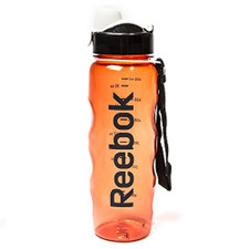 Reebok BPA-Free Water Bottle, Orange, 750 mL