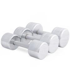 Chromed Solid Dumbbells