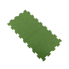 Ecore Interlocking Laminate Turf Tile Green