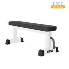 CAP+ Flat bench with wheels (White)