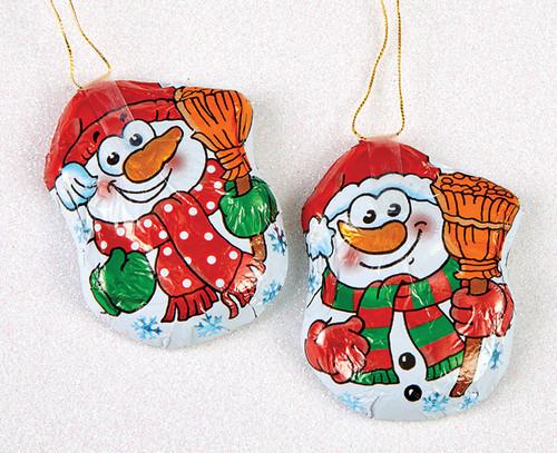 8254 Milk Chocolate Snowman Tree Hanger