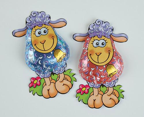 7678 Milk Chocolate Lamb on Card