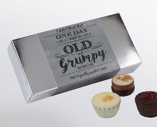 Old & Grumpy 8 Luxury Chocolate Box