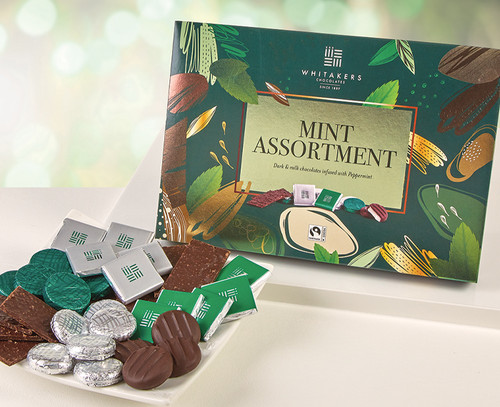 7645 Whitakers Mint Chocolate Selection