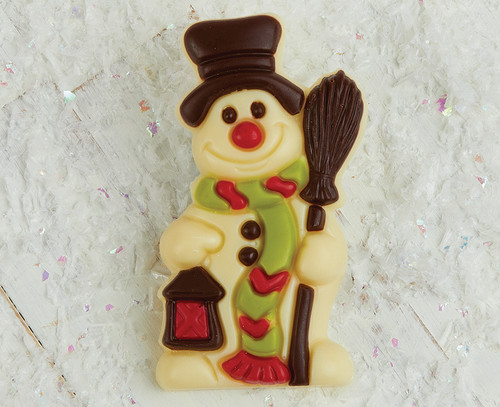 7526 White Chocolate Frosty the Snowman