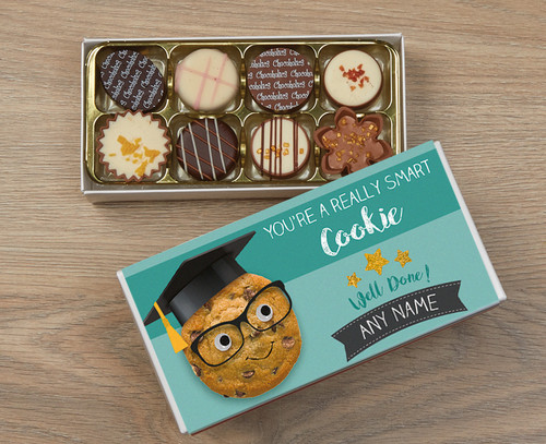 Personalised Smart Cookie Luxury Chocolate Box