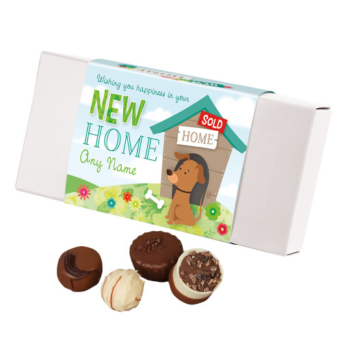 5854 Personalised New Home Luxury Chocolate Box