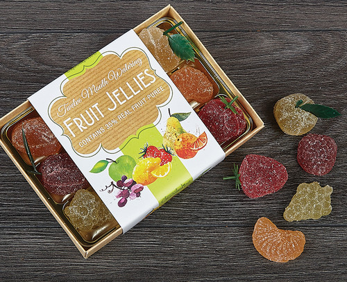 Fruit Jellies Made With Real Fruit Puree